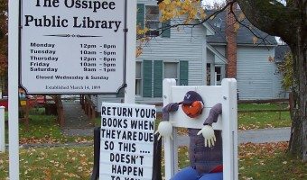 Town of Ossipee Scarecrow Contest