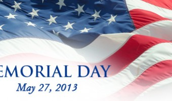The Ossipee Public Library will be closed on Monday May 27th, 2013 in observance of Memorial Day
