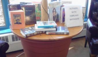 Authors with February Birthdays