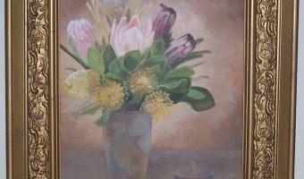 Oil Paintings by Pat Jones on display in August & September