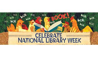 National Library Week is April 10- April 15
