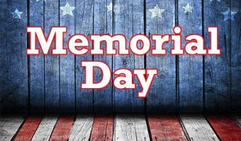 The Library will be closed on Monday, May 28, 2018 in observance of Memorial Day