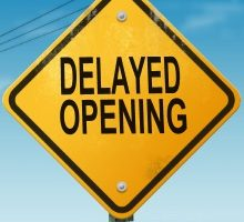 Delayed Opening: The library will open at 1pm on Monday, June 18, 2018