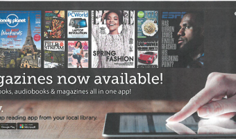Browse our selection of digital magazines using the Libby app!